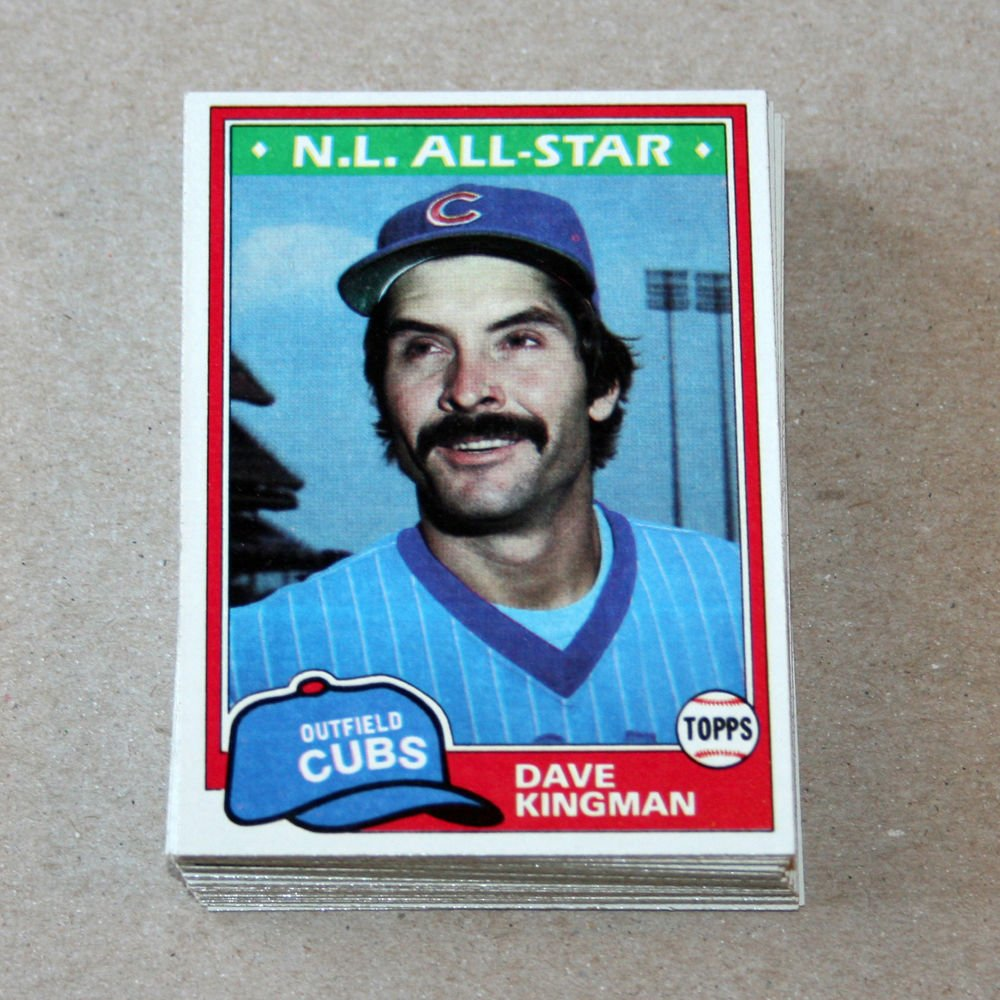 1981 TOPPS BASEBALL - Chicago Cubs Team Set + Traded Series