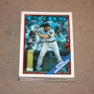 1988 TOPPS BASEBALL - Chicago Cubs Team Set + Traded Series