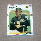 1988 FLEER BASEBALL - Pittsburgh Pirates Team Set