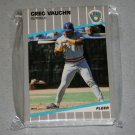1989 FLEER BASEBALL - Milwaukee Brewers Team Set + Update Series
