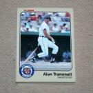1983 FLEER BASEBALL - Detroit Tigers Team Set