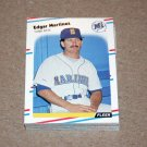 1988 FLEER BASEBALL - Seattle Mariners Team Set + Update Series
