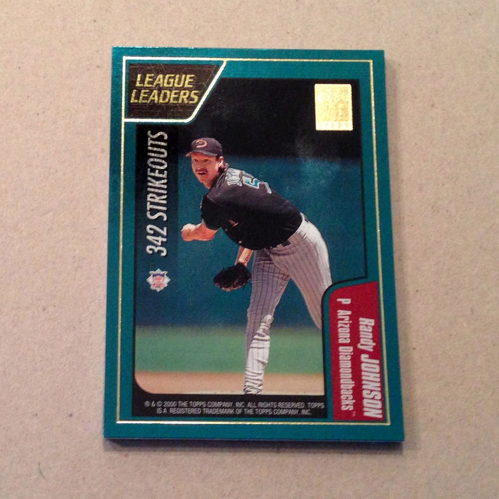 2001 TOPPS BASEBALL - League Leaders Complete Sub-Set