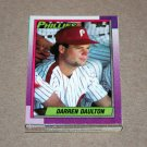 1990 TOPPS BASEBALL - Philadelphia Phillies Team Set