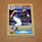 1987 TOPPS BASEBALL - Atlanta Braves Team Set + Traded Series