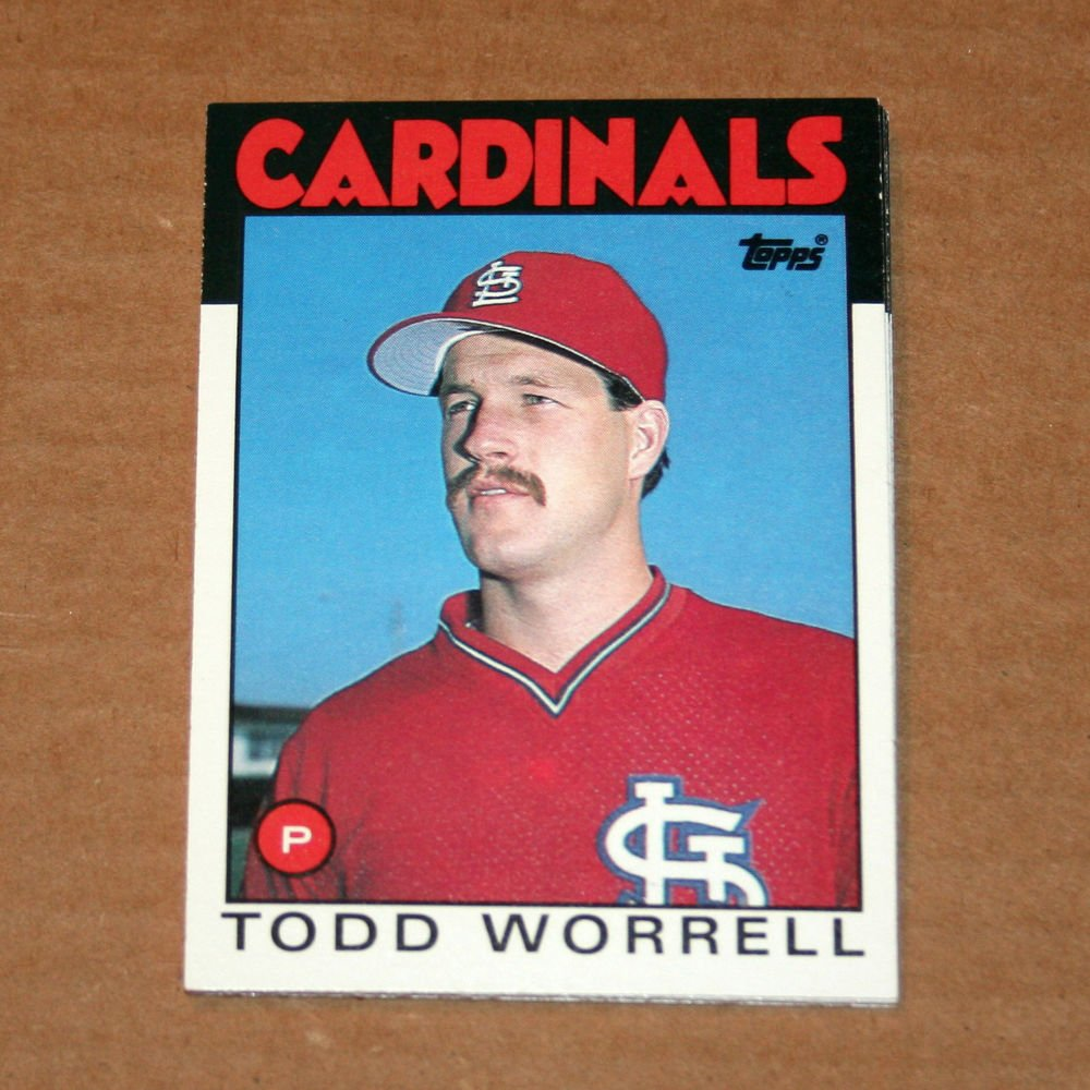 1986 TOPPS BASEBALL - St. Louis Cardinals Team Set (Traded Series Only)