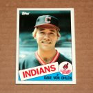 1985 TOPPS BASEBALL - Cleveland Indians Team Set (Traded Series Only)