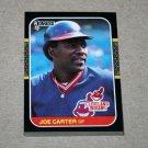1987 DONRUSS BASEBALL - Cleveland Indians Team Set