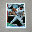 1994 TOPPS BASEBALL - Cleveland Indians True Team Set with Traded Series