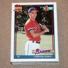 1991 TOPPS BASEBALL - Atlanta Braves Team Set + Traded Series