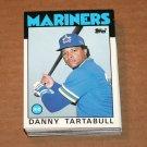 1986 TOPPS BASEBALL - Seattle Mariners Team Set + Traded Series