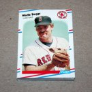 1988 FLEER BASEBALL - Boston Red Sox Team Set