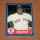 1986 FLEER BASEBALL - Boston Red Sox Team Set (Update Series Only)