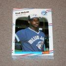 1988 FLEER BASEBALL - Toronto Blue Jays Team Set