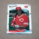 1988 FLEER BASEBALL - Cincinnati Reds Team Set + Update Series