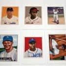 Lot of (9) 1989 BOWMAN Baseball Card Sweepstakes Reprints