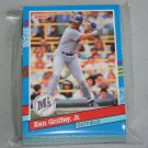 1991 DONRUSS BASEBALL - Seattle Mariners Team Set