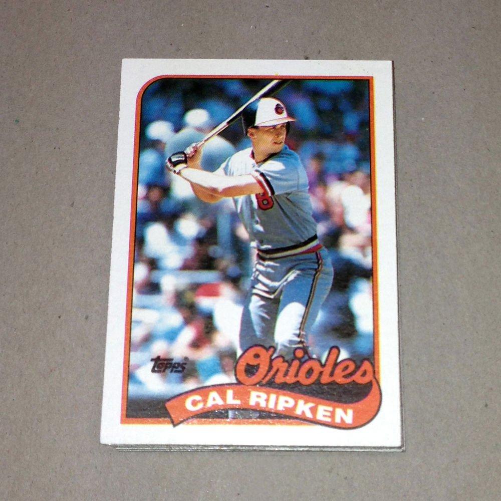 1989 TOPPS BASEBALL - Baltimore Orioles Team Set