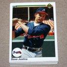 1990 UPPER DECK BASEBALL - Atlanta Braves Team Set + High Number Series