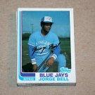 1982 TOPPS BASEBALL - Toronto Blue Jays Team Set + Traded Series