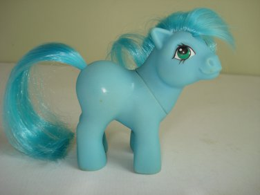 My Little Pony Retired Vintage G1 MO Blue Baby Ember Mail Order (1015)
