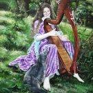 Faery Fantasy Portrait 11 x 15