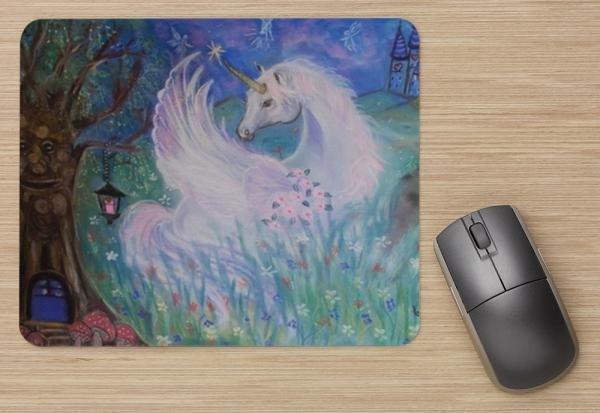 Unicorn Computer Mouse Pad