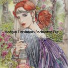 Elf Princess 24 x 16 FINE ART CANVAS FRAMED PRINT