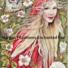Maggie Sands Enchantress 12 x 8 FINE ART CANVAS FRAMED PRINT