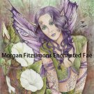 Fae In The Bindweed 12 x 8 FINE ART CANVAS FRAMED PRINT