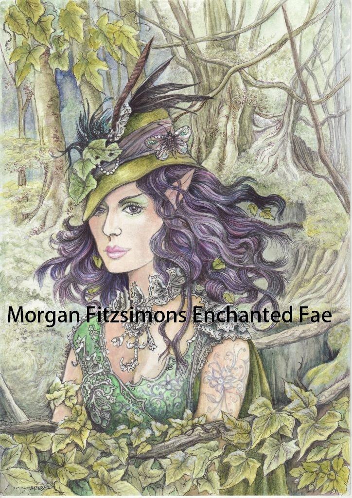 Ivy Greenleaf 24 x 16 FINE ART CANVAS FRAMED PRINT
