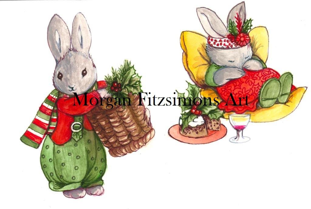 Countryworld Christmas Digital & Printable Greeting Card