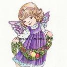 Christmas Angel 3 Digital & Printable Greeting Card