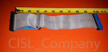 """IDE 40 PIN 10"""" Female to Female Hard Drive Ribbon Cable Dell Free Shipping"""