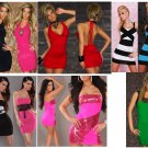 Free Shipping Wholesale Lot x 20 Top Quality Fashsion Club Dress