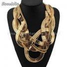 Boho Design  Claw Style Collar Bib Necklace