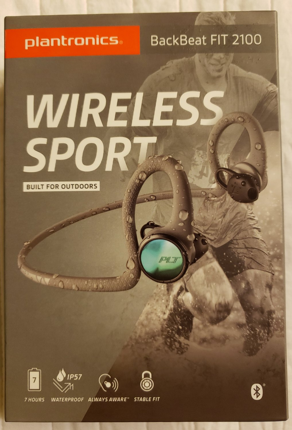 Plantronics FIT 2100 Bluetooth Wireless Earbuds