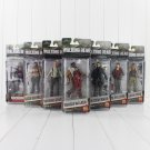 7Pc /Lot AMC The Walking Dead Abraham Ford Bungee Walker Rick Grimes The Governor  Action Figure