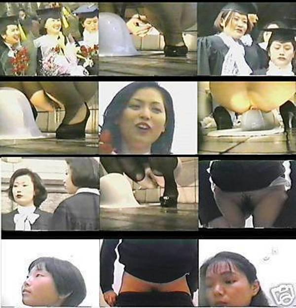ASIAN UNIVERSITY SCHOOL BATHROOM STUDENTS VOYEUR HOT LADIES TOILET WC BATH PISS