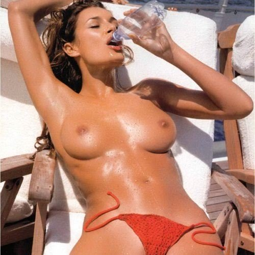 Alena seredova backstage calendario 2005 - 3 part 5