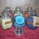 8 oz . Baltimore Style Jar Candle ~ Fressia ~SALE~