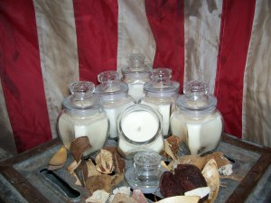 50 Wholesale 8 oz. Jar Candles ~ U choose up to 10 Scents