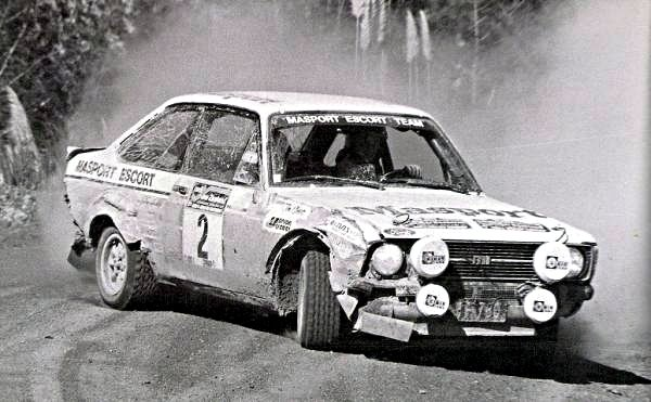 Ari Vatanen Ford Escort RS1800 Rally of New Zealand 1977 - Rally Car Photo Print