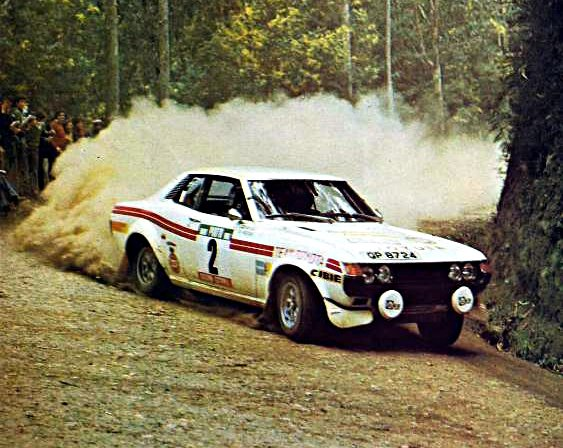 Ove Andersson Toyota Celica 1976 Rally of Portugal - Rally Car Photo Print