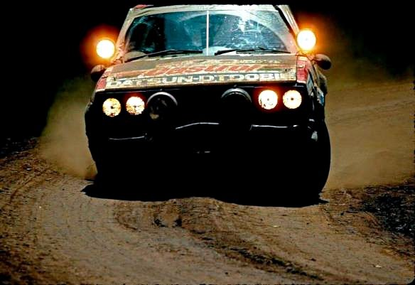 S. Mehta M. Doughty Datsun Violet GT 1981 Safari Rally Winner - Rally Car Photo Print