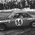 Munari-Mannucci Lancia Fulvia 1.6 HF 1972 Monte-Carlo Rally Winners- Rally Car Photo Print