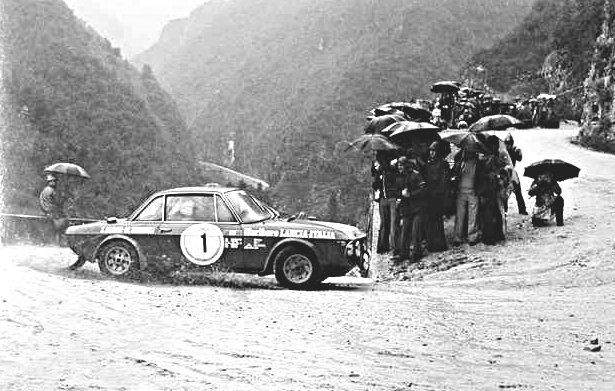 Munari-Mannucci Lancia Fulvia 1.6 HF 1973 San Martino di Castrozza Rally - Rally Car Photo Print