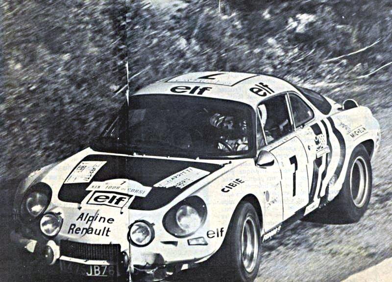 Jean-Pierre Nicolas Alpine Renault A 110 1975 Tour de Corse - Rally Car Photo Print