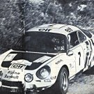 Jean-Pierre Nicolas Alpine Renault A 110 1975 Tour de Corse - Rally Car Photo Print