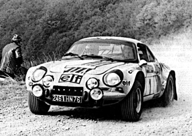 Jean-Luc Therier Alpine Renault A 110 1983 Sanremo Rally - Rally Car Photo Print